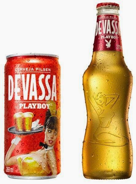packaging pubblicità paris hilton playboy naming branding brasile birra cerveja