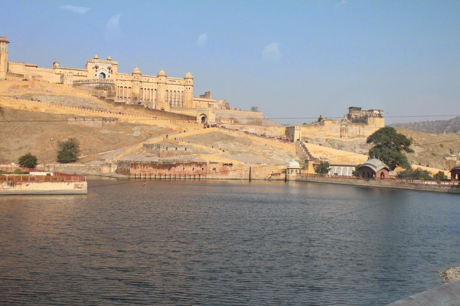 Ámbér erőd, India