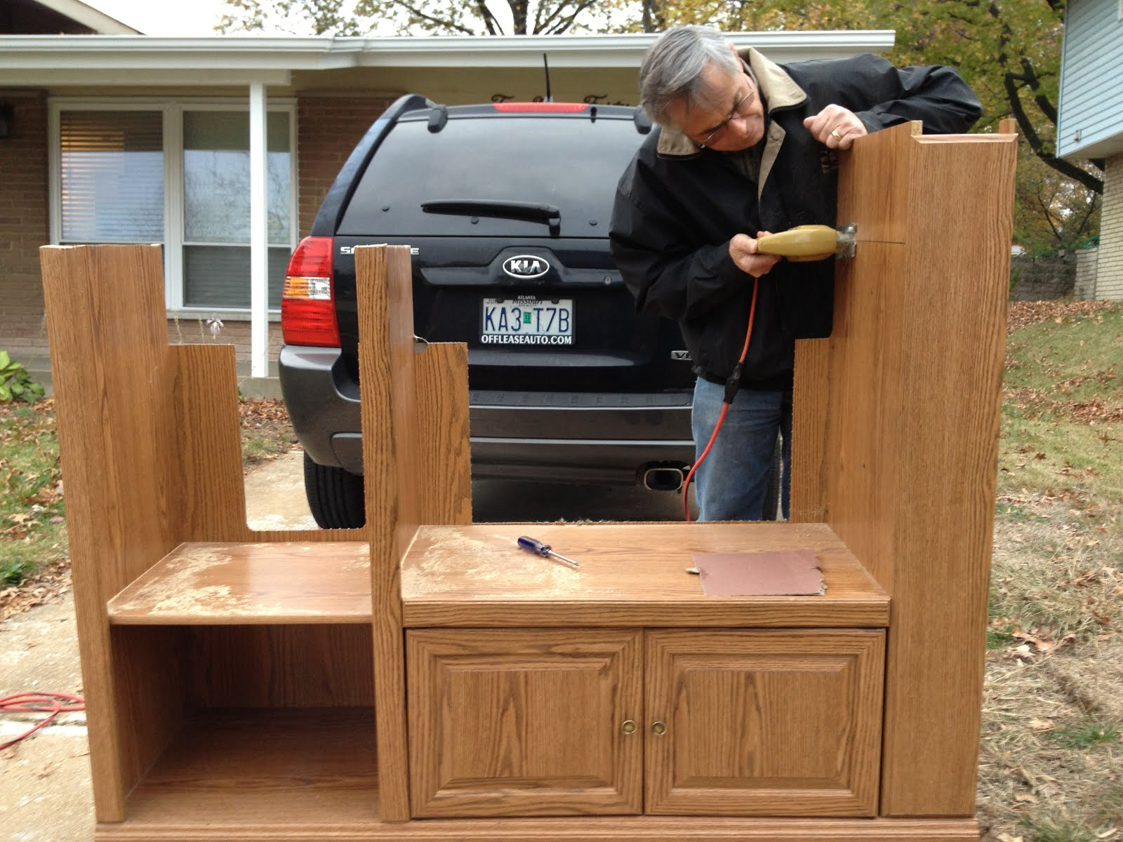 Keeping Up With The Buckners Entertainment Center Kitchen How To