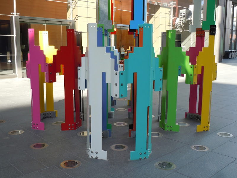 Human Structures Jonathan Borofsky