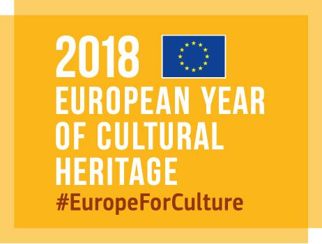 SELLO AÑO EUROPEO PATRIMONIO CULTURAL 2018
