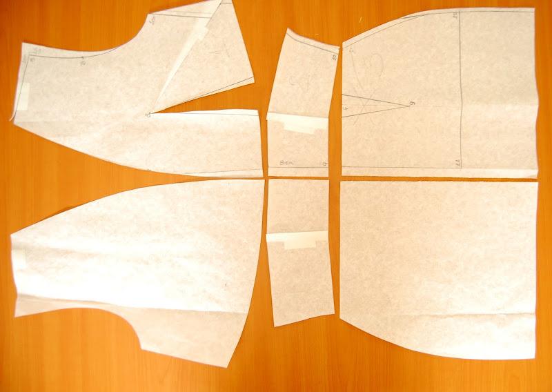 Moldes de costura vestuario Sira Quiroga Rosalinda Fox Tiempo entre Costuras