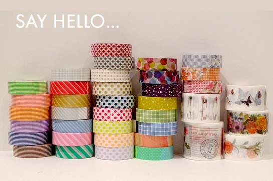Modelos Washi Tape