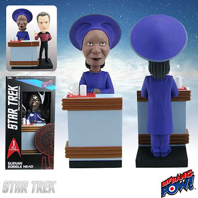 Star Trek: The Next Generation Build-a-10 Forward Guinan Bobble Head by Bif Bang Pow!