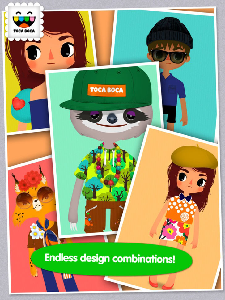 Toca Tailor Free App Game By Toca Boca AB