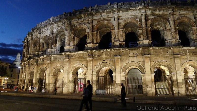 Roman Monuments In Nîmes The Amphitheater Maison Carrée Temple Of