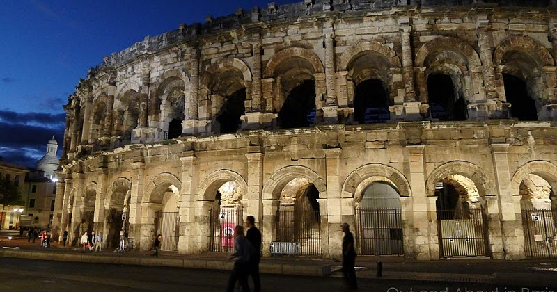 Roman monuments in n mes the amphitheater maison carr e temple of diana and the tour magne - Tour magne nimes ...