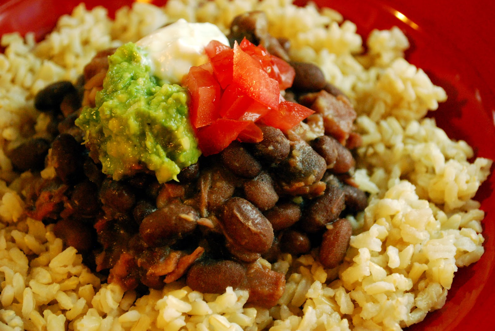 how to cook rice and beans