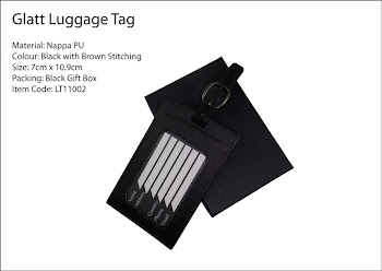 "CENTRUM LINK - ""GLATT LUGGAGE TAG"""