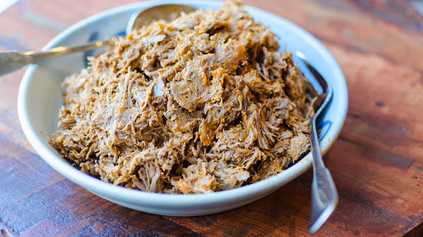 Pressure Cooked Pulled Pork