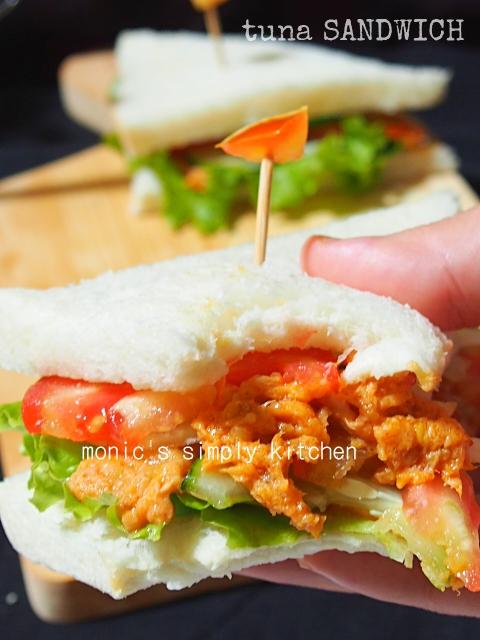 resep tuna sandwich