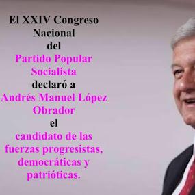 ¡Voto masivo por López Obrador!