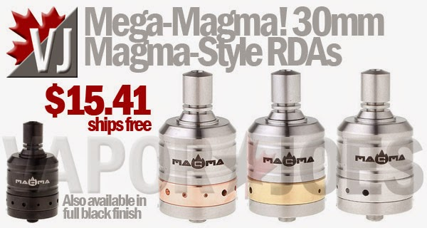 Mega-Magma! - 30mm Magma-Style Rebuildable Drippers