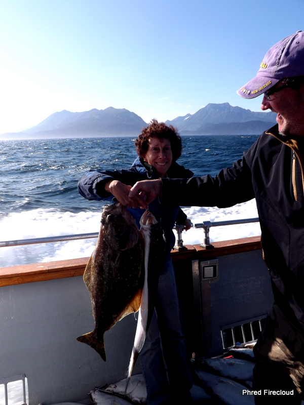 The firecloud report mrs phred 39 s fish for Halibut fishing homer alaska