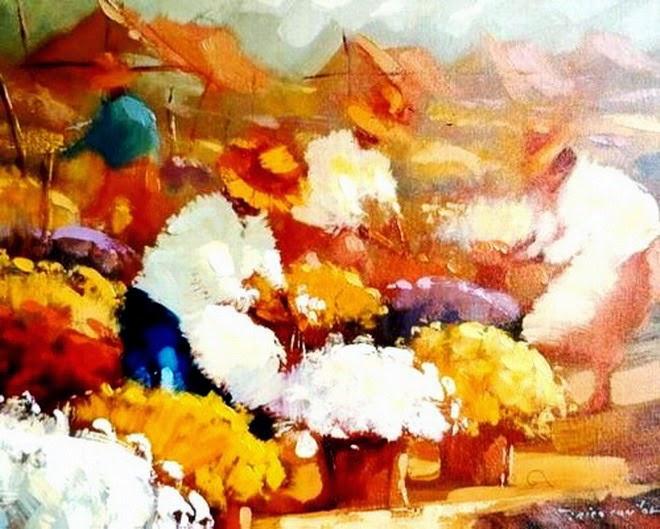 mujeres-recolectoras-campesinas-cuadros-pintados-con-espatula