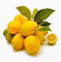 sebotol parfum lemon