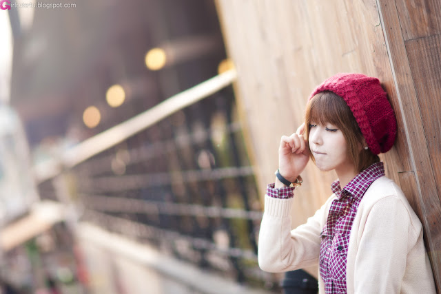 1 Heo Yoon Mi - Outdoor-very cute asian girl-girlcute4u.blogspot.com