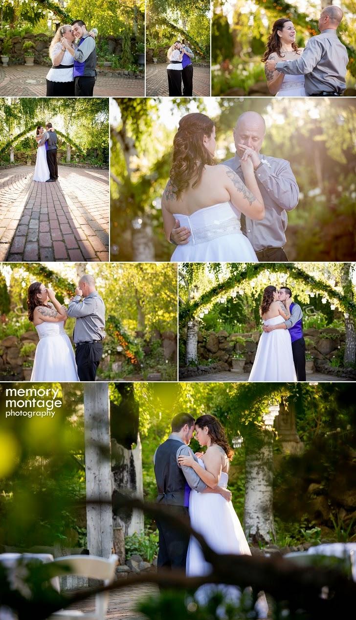 Cascade Gardens Wedding Yakima, WA - Memory Montage Photography