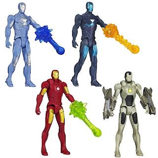 Hasbro Iron Man 3 All-Stars Series 1 figures