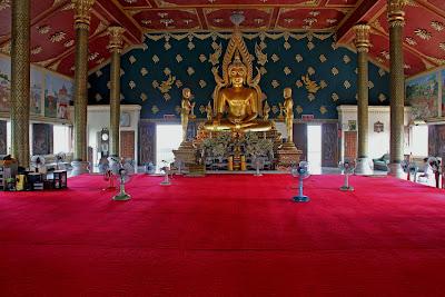Wat Asokaram Buddhist Pilgrimage Tourist Destination Thailand