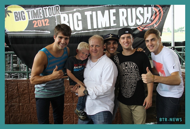 rush meet and greet rules