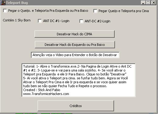 teleport+bug Transformice Teleport Vip Hile Botu v1.0 indir
