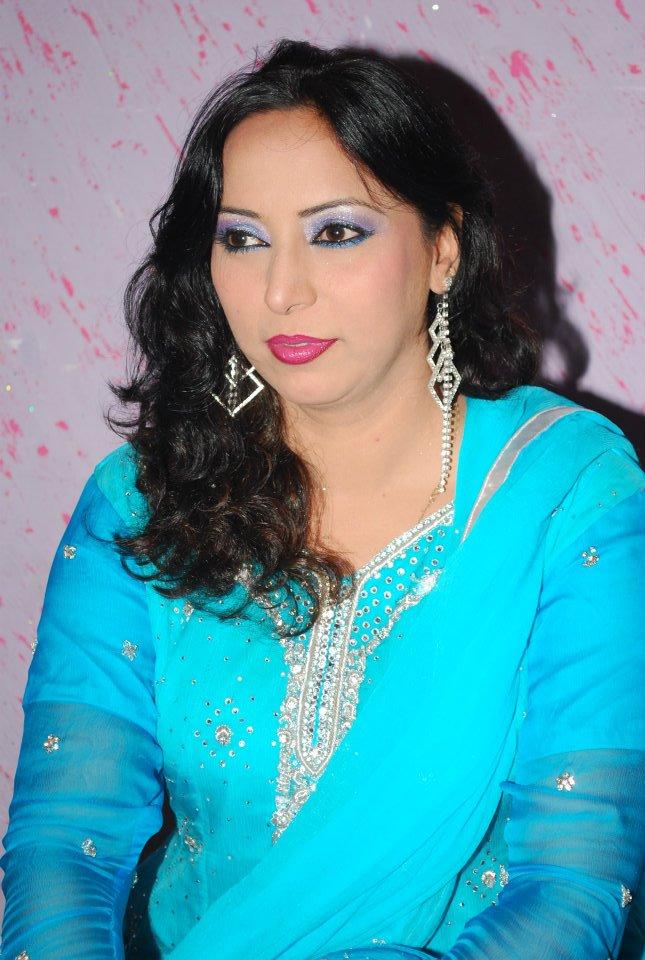 Pashto Film, CD's and TV Actress Khalida Yasmen Wallpaper