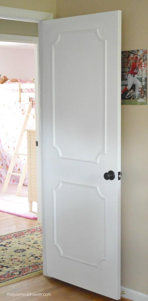 Molding Added To Interior Doors