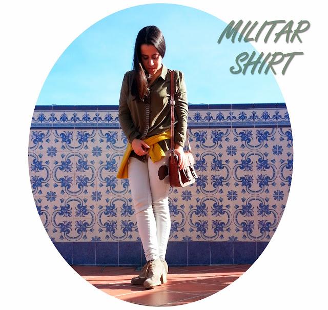 Militar Shirt-175-lamodeestunart