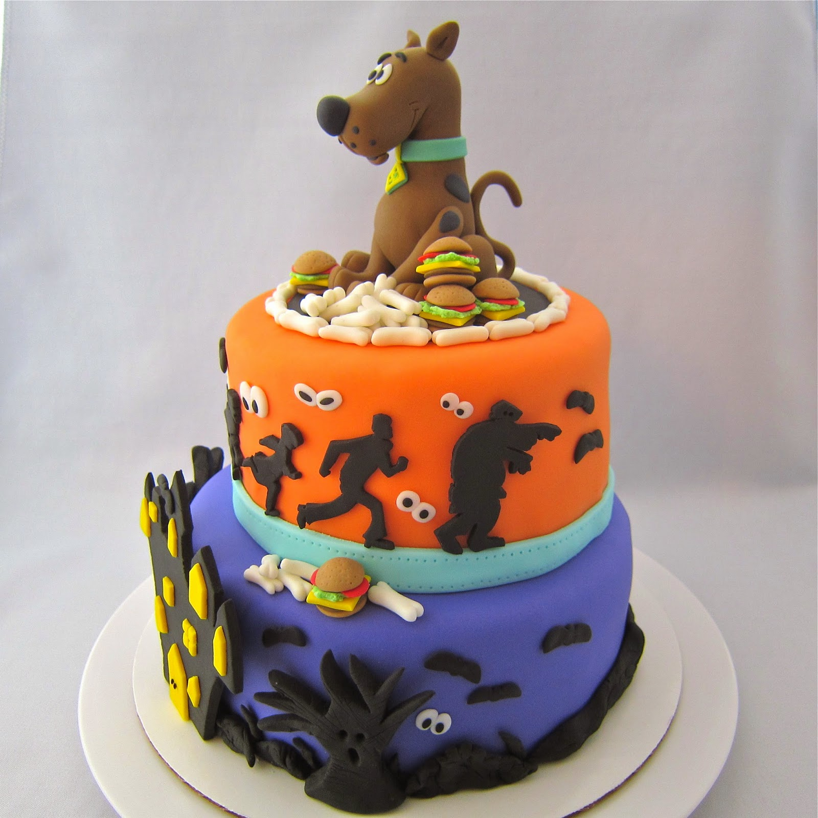Scooby Birthday Cake Ideas
