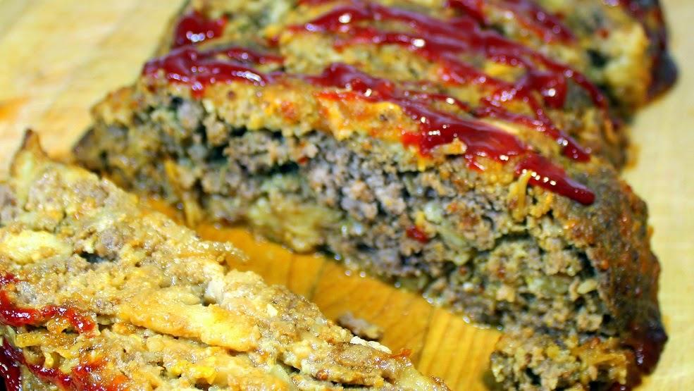 """52 Ways to Cook: Meat Loaf - Mom's """"Old School"""" Secret MeatLoaf..."""