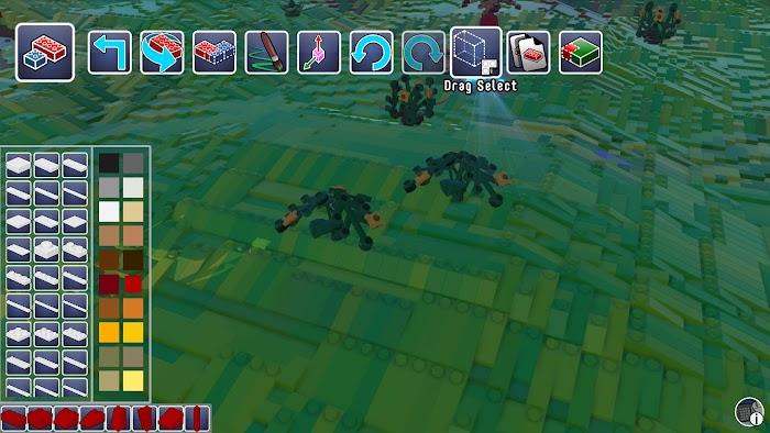 樂高世界 (LEGO Worlds) 複製物體方法