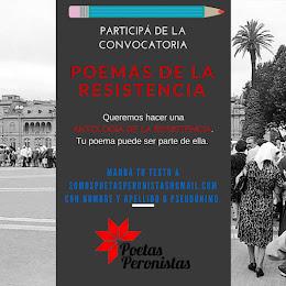 Convocatoria Poemas de la Resistencia