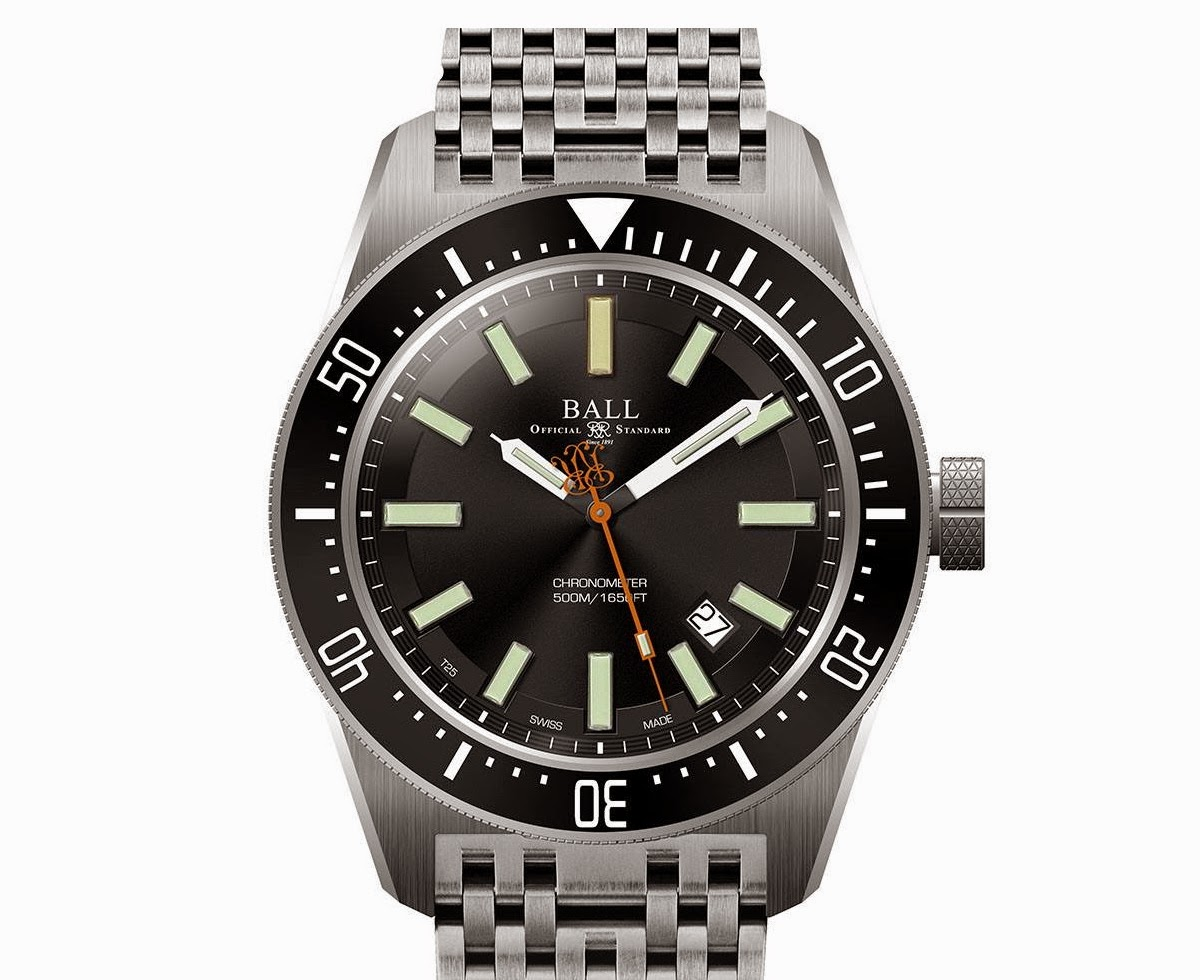 Oceanictime ball watch co engineer master ii skindiver ii for Ball watches