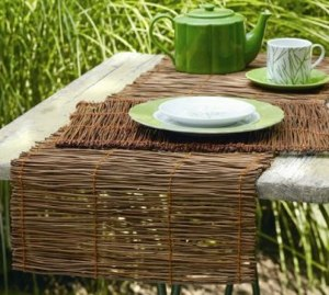 Charmant Runners Bamboo Runners Photo Bamboo Bamboo Table Valance Table ...