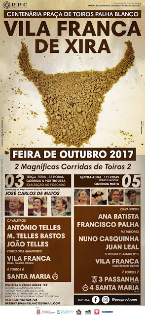 VILA FRANCA DE XIRA (PORTUGAL)  03 Y O5 DE OUTUBRO 2017. SU FERIA TRADICIONAL