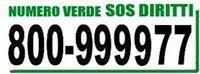 L'Arci attiva il numero verde 800-999977