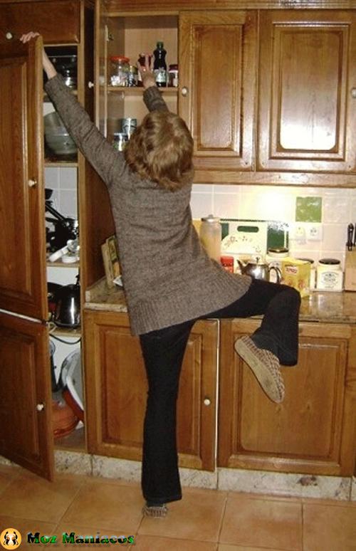 As cozinhas não foram feitos para você
