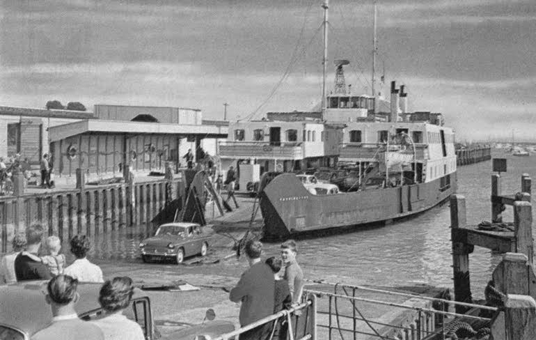 Portsmouth IOW Car Ferry