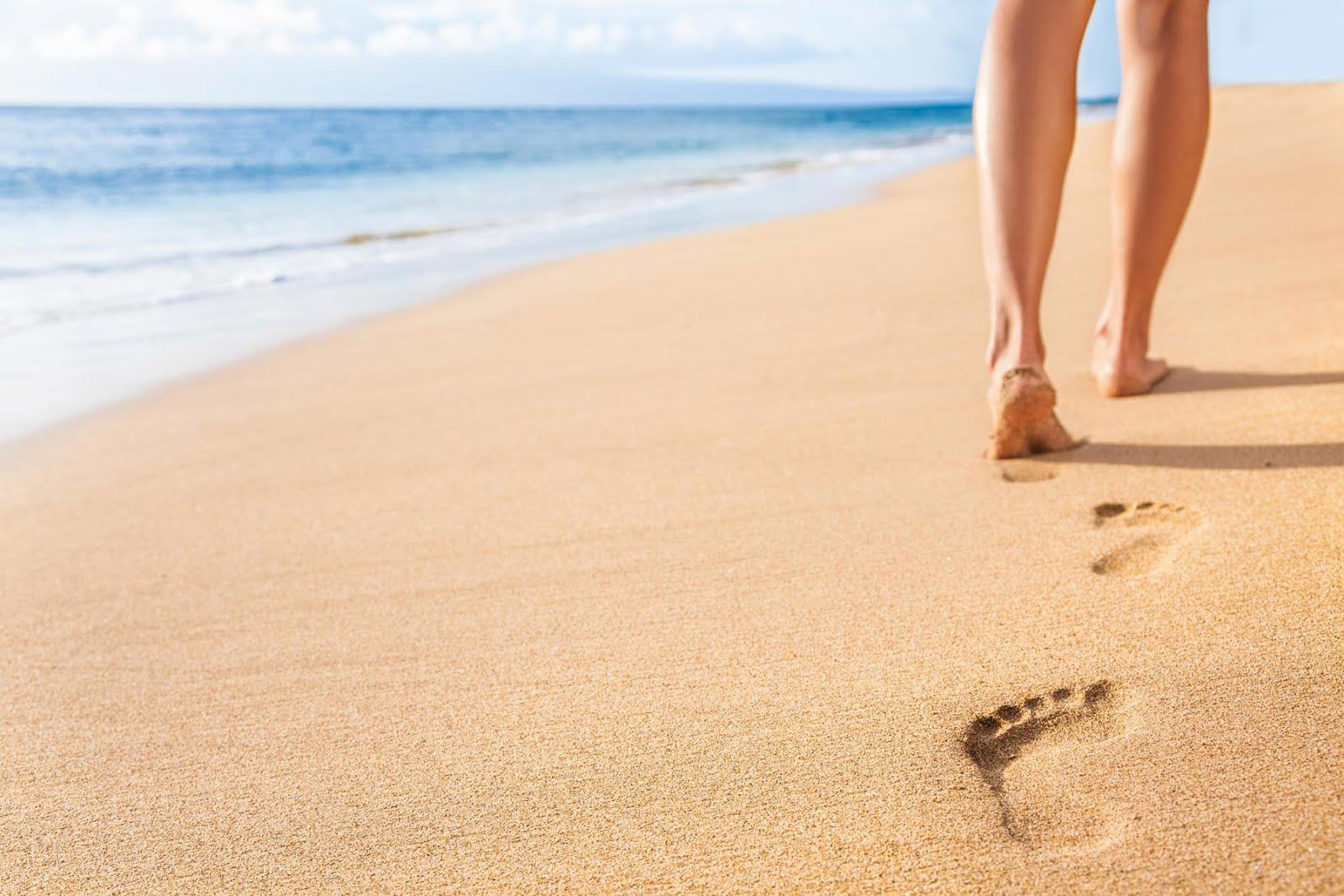 Otras huellas en la arena...