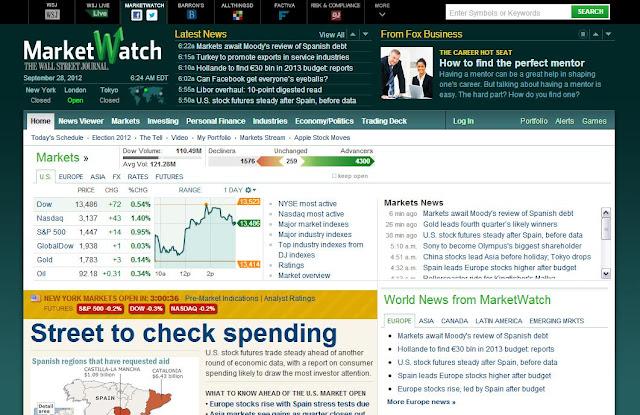 marketwatch, finance, make money online, make money,