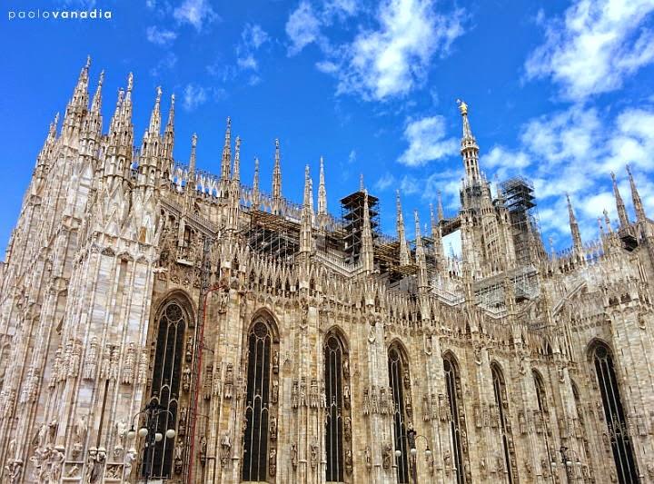 Duomo, simbolo di Milano. Un racconto affascinante. Parte I - l'esterno. Foto di Paolo Vanadia