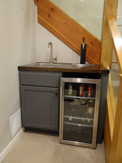 One Project at a Time - DIY Blog: The Wet Bar Finale