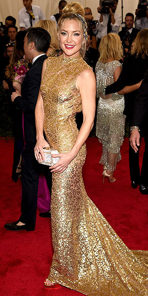 Kate Hudson, Michael Kors, red carpet, met gala