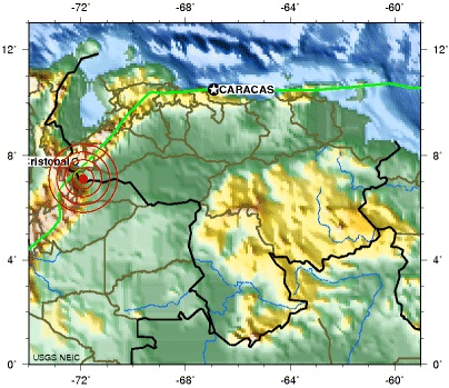 APURE, VENEZUELA earthquake 2012 September29