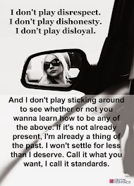 I don't play!