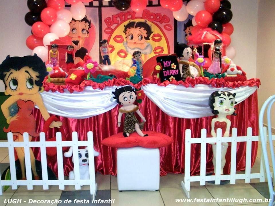 Tema da Betty Boop para festa infantil