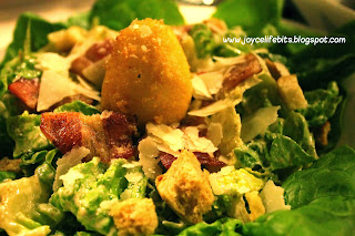 3 little pig story Caesar salad