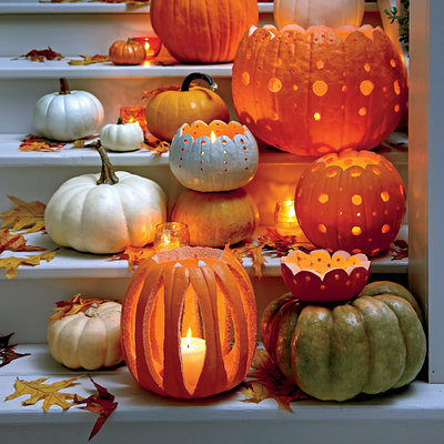 elegant carved pumpkins pics