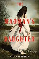 book cover of The Madman's Daughter by Megan Shepherd